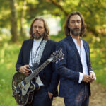 Rich Robinson (interviewed) and brother Chris, of The Black Crowes